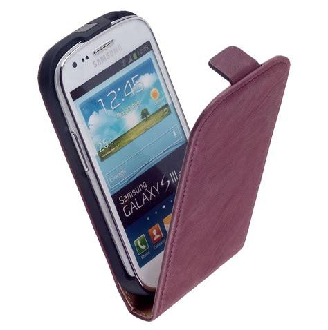 Casing Hp Samsung Galaxy S3 Mini digitalsonline premium flip hoesje voor samsung galaxy s3 mini i8190 paars