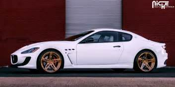 Maserati Granturismo Custom Maserati Granturismo Custom Wheels Niche Mulsane 21x9 0