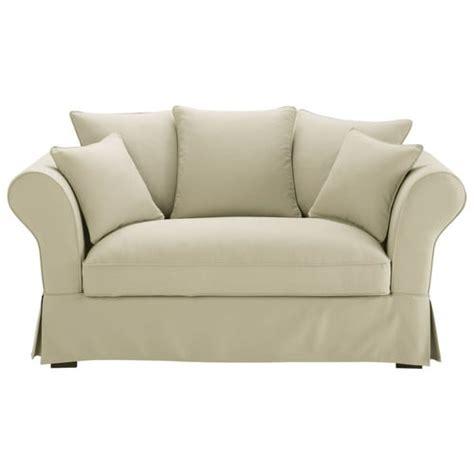 divano roma maison du monde divano beige grigio chiaro in cotone 2 3 posti roma