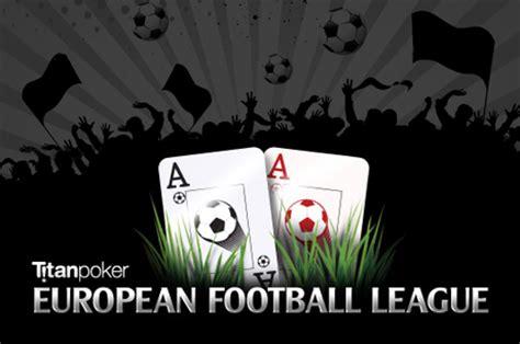 titan poker's newest promotion combines the european