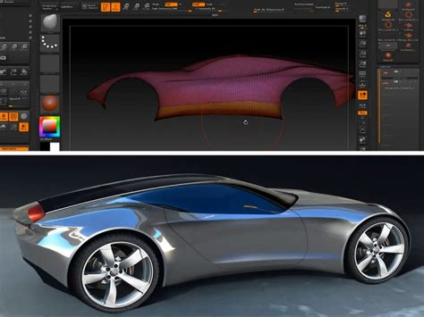 zbrush tutorial car exporting zbrush 3d models for autodesk vred car body design