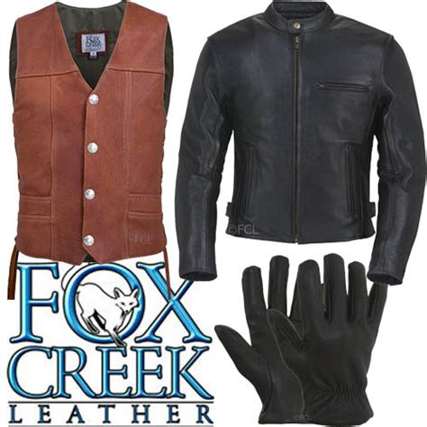 leather motorcycle gear fox creek leather motorcycle gear