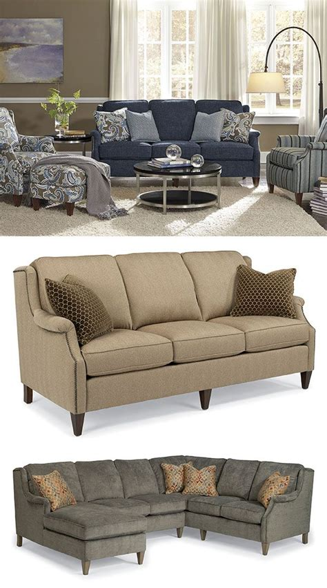 flexsteel living room furniture zevon sofa by flexsteel sofas we