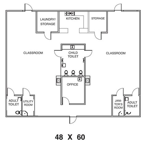preschool floor plan template modular day care plans sle floor plans for daycare center