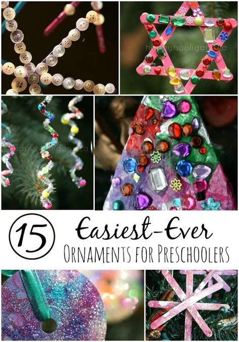 christmas ornaments to make with oreschool boy 15 gorgeous easy ornaments for happy hooligans