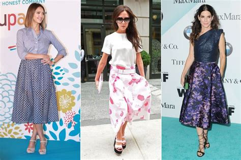 hairstyle that will suit a midi summer skirts midi jill dress
