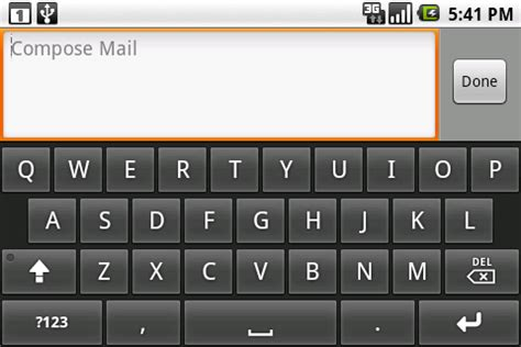 android developers blog: on screen input methods