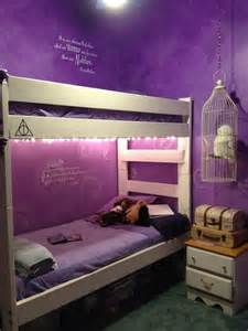 harry potter bedroom harry potter bedroom i love harry potter plus those purple walls are to die for harry potter