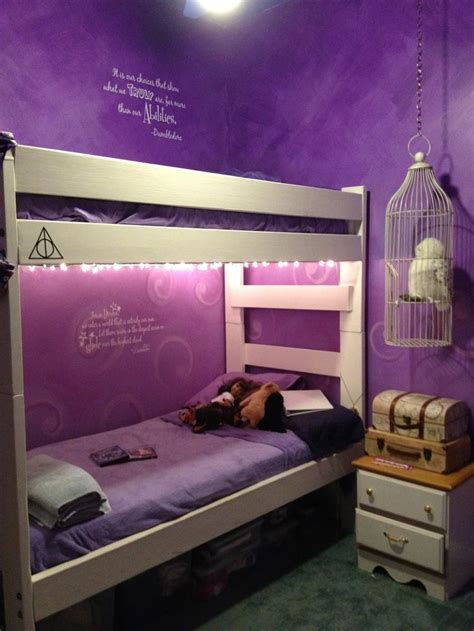 purple themed bedroom ideas harry potter bedroom i love harry potter plus those