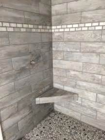 home depot shower tile marazzi montagna dapple gray 6 in x 24 in porcelain