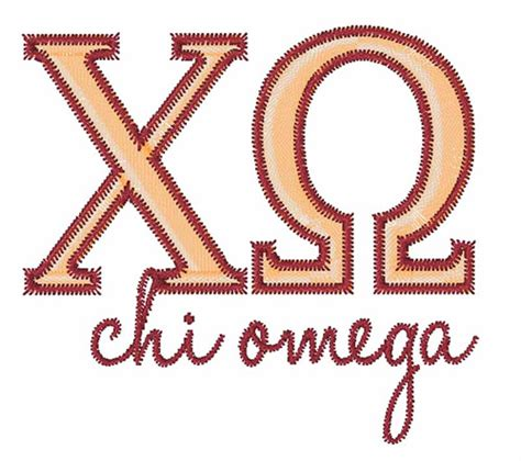 embroidery design membership text and shapes embroidery design chi omega from