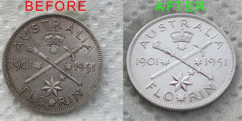 ozcopper coin cleaning
