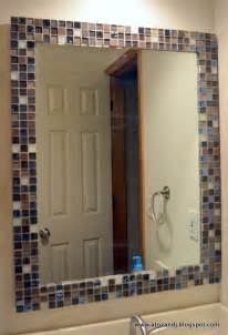 how to frame a bathroom mirror with mosaic tiles 25 best ideas about tile around mirror on