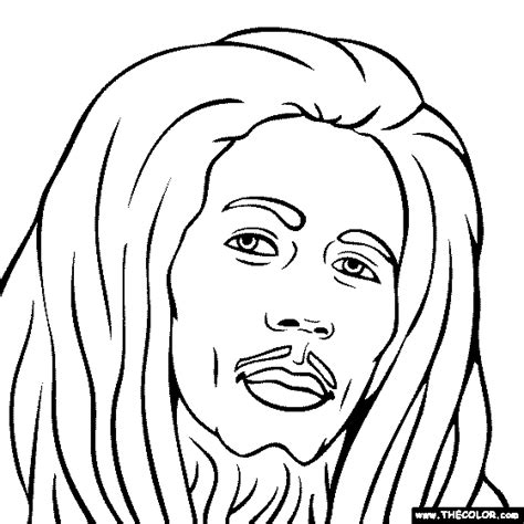 Tree Toaster Bob Marley Free Coloring Pages On Art Coloring Pages