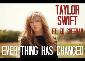 ed sheeran taylor swift everything has changed chords tekstowo everything has changed guitar chords taylor swift ft ed