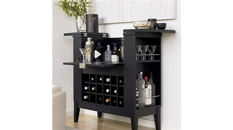 Dining Room Drinks Cabinets Black Home Bar Cabinet Spirits Cabinet