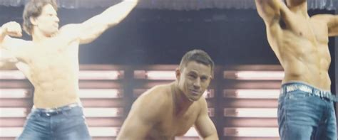 michael strahan out abs channing tatum on the magic mike new magic mike xxl poster shows channing tatum is coming
