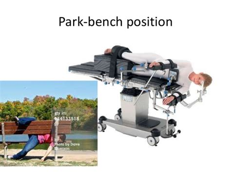 bench position post cranial fossa surgery and anesthesia considerations