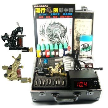 tattoo kit low price professional tattoo kits 4 guns rotary tattoo machine kits