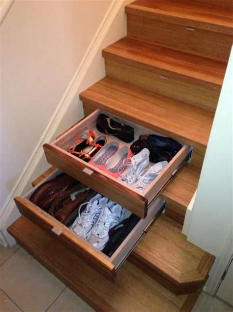 Stair Drawers Storage by Best 25 Stair Drawers Ideas On Stair Storage