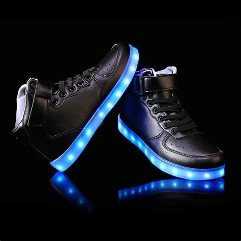 led shoes for unisex shoe with straps led light shoes usa