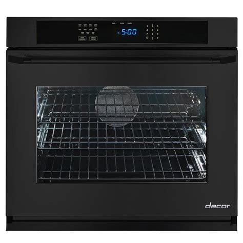 wall oven cabinet lowes shop dacor renaissance self cleaning convection single
