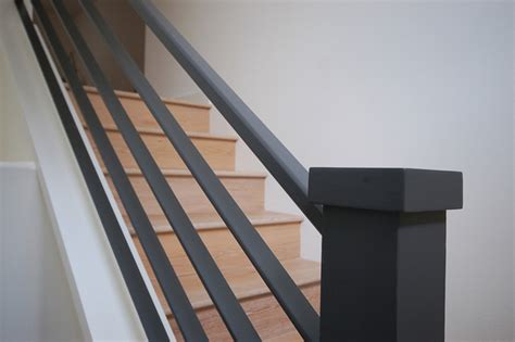 Banisters For Sale Metal Railing Detail Modern Staircase Orange County