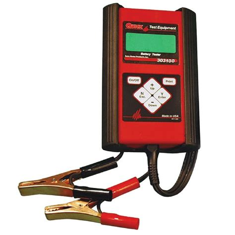 Automotive Battery Tester Reviews   2017   2018 Best Cars