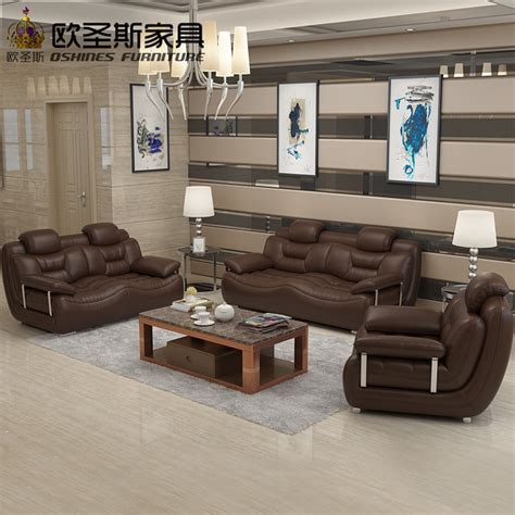 2017 New Design Italy Modern Leather Sofa Soft Comfy Living Room Furniture
