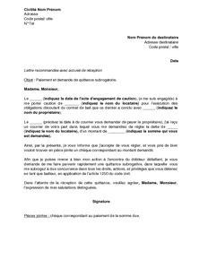 Lettre Demande De Quittance modele lettre quittance emploi