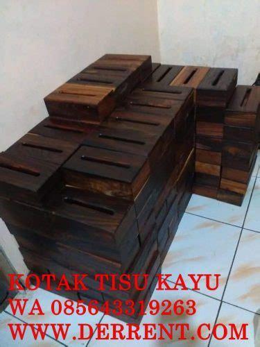 Harga Kotak Perkakas Kayu by Harga Kotak Tisu Kayu Sono Dengan Finising Melamin