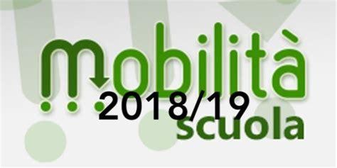 mobilit 224 2018 2019 firma contratto presso il miur