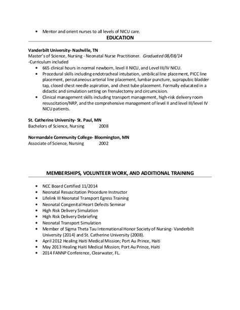 neonatal cover letter nicu cover letter sle livecareer nicu