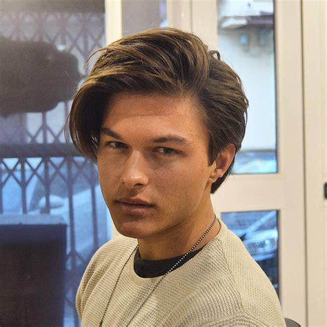 part hairstyles for best medium length men s hairstyles 2017