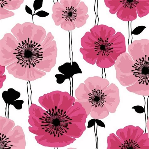 modern floral wallpaper darcy magenta modern floral wallpaper bolt contemporary