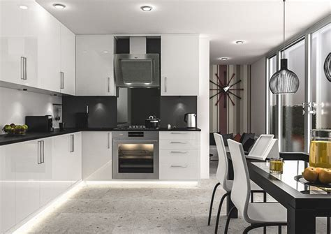 Ultragloss White Kitchen Doors   Made to Measure from £4.16