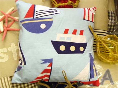 boat themed cushions nautical cushion covers and soft furnishing maritime and