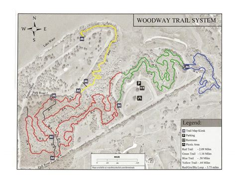 midway woodway park mountain bike trail in woodway
