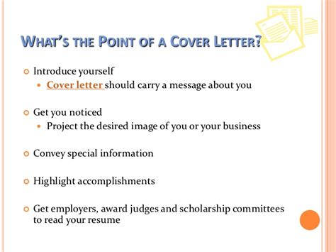 whats a cover letter for a writing a cover letter