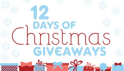 12 Days Of Christmas Giveaway - giveaways
