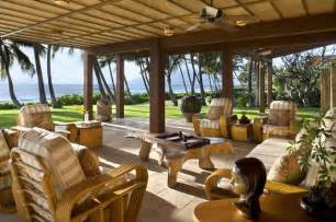 Lanai Patio Designs Lanai Tropical Patio Hawaii By Ike Kligerman Barkley