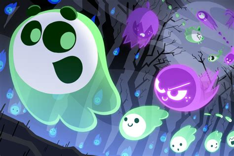 googles halloween doodle   competitive multiplayer