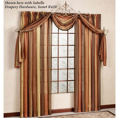 Scarf Window Treatments Ombre Semi Sheer Scarf Valance And Window Treatments