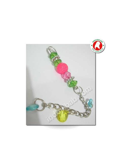 Peniti Jilbab Peniti Jilbab Glitter Pink 001