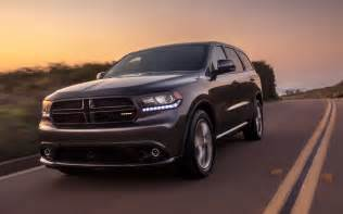 2014 dodge durango rt front view in motion 03 photo 53