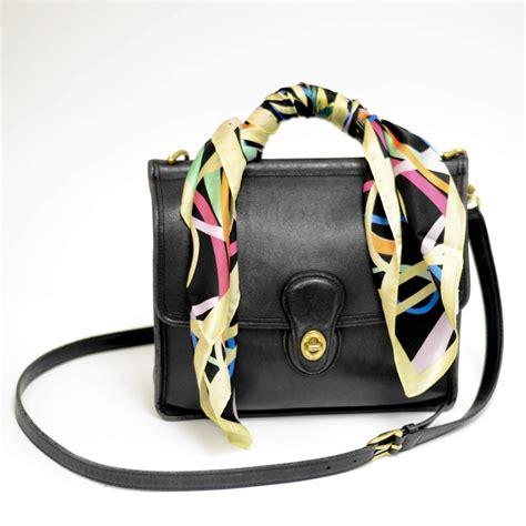 diy scarf covered purse