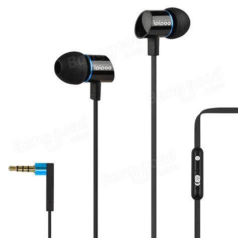 Sale Headset Earphone Fdt Bass ipipoo a300hi in ear bass stereo with mic headphones earphone sale banggood