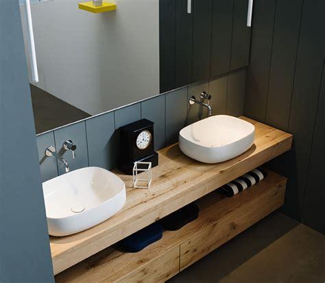 arredo bagno legno naturale mobile bagno legno grezzo rovere antico bagni d autore
