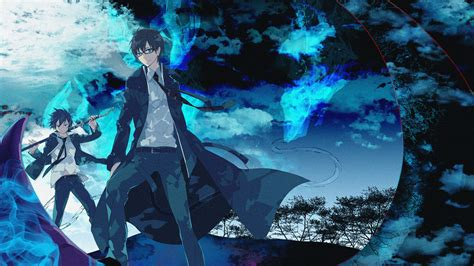 the exorcist full hd wallpaper and background 1920x1200 ao no exorcist emonak glasses male okumura rin okumura