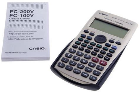 Casio Fc 100v Financial Consultant Calculator calculators casio fc 100v financial consultant calculator was sold for r449 00 on 14 feb at 11